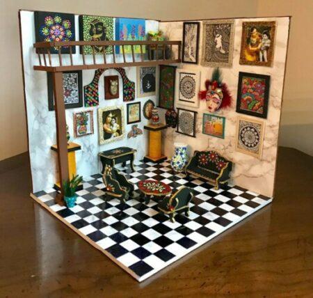 mini dollhouse kits