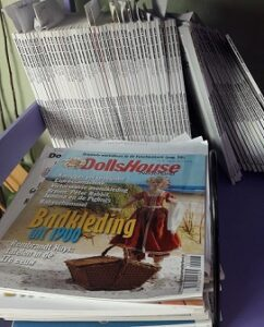 Dollhouse Miniature Magazines