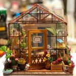 Robotime Miniature Kit- An Expanded Review Of Cathy's Flower House