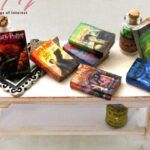Etsy Dollhouse Miniatures - Miniature Books