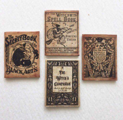 Etsy Miniature books
