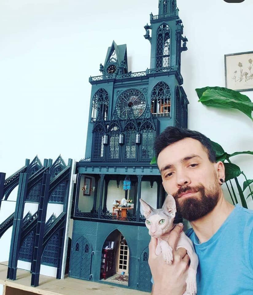gothic dollhouse