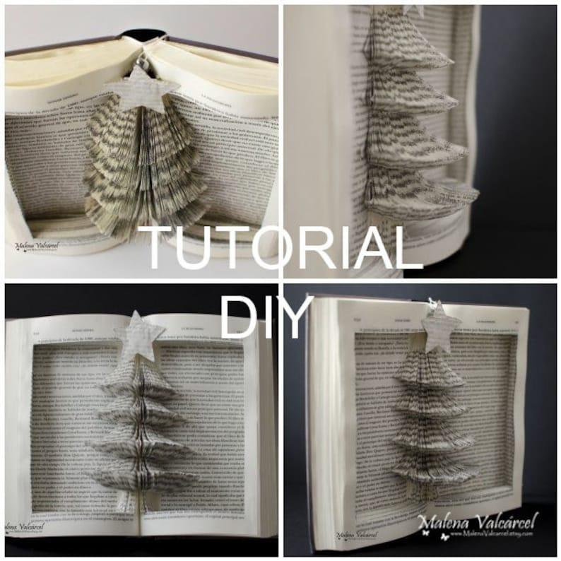 DIY Tutorial Christmas tree Malena Valcarcel paper art