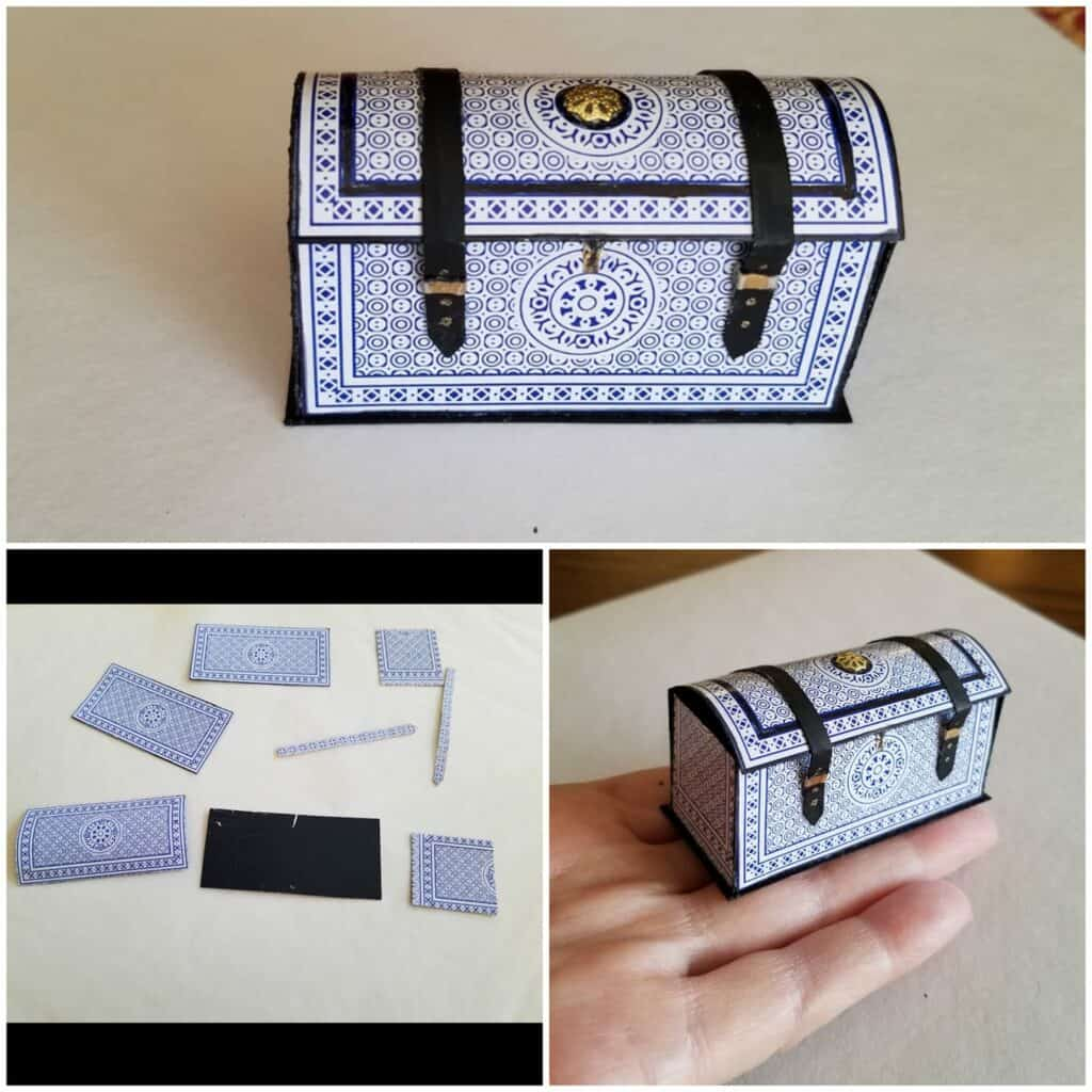 a chest from playing cards
