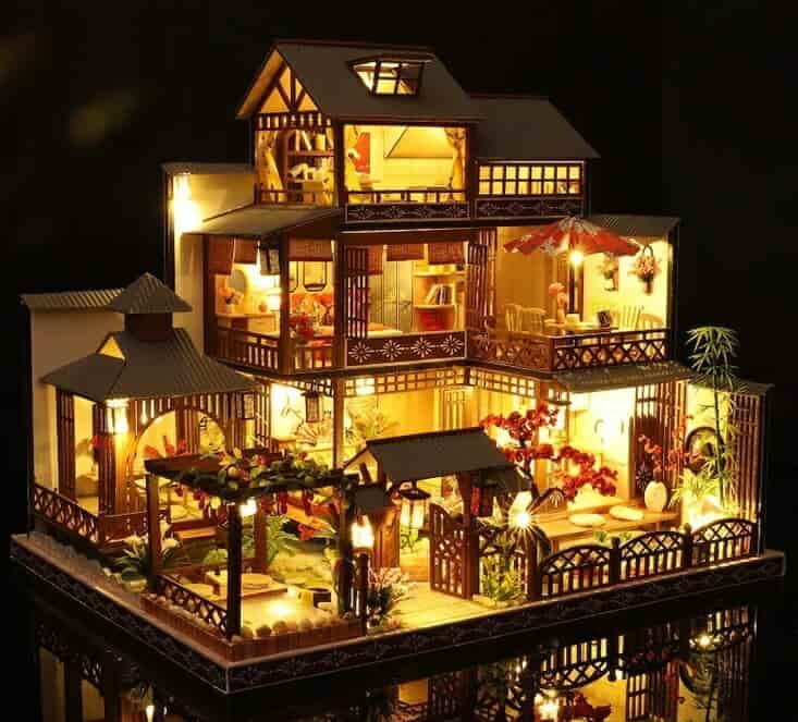 diy miniature dollhouse kits