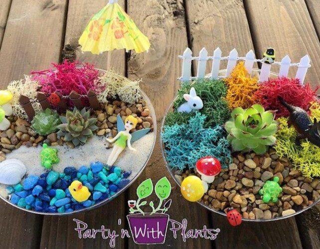a fairy garden for kids