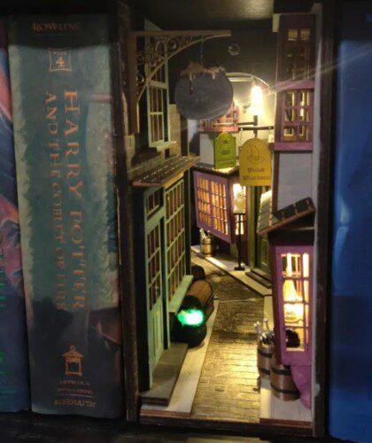 Harry Potter scene