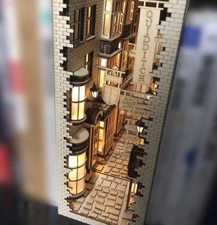 book nook diorama