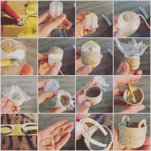 make a small basket