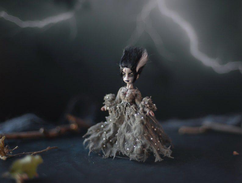 gothic lady doll