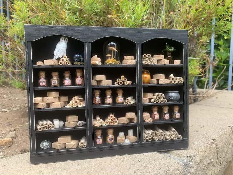 gothic miniatures shop etsy 2