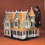 Greenleaf dollhouse kits with kid