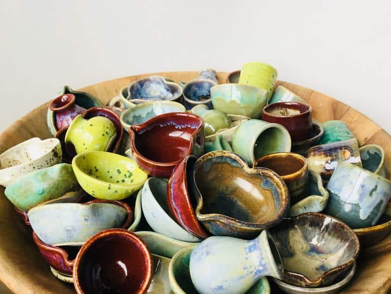 handmade pottery sale