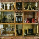 Another Antique Dollhouse Style = Dutch Cabinet Dollhouses