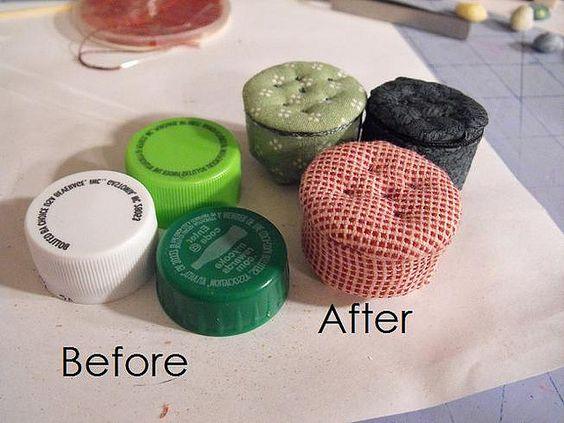 miniature pouf