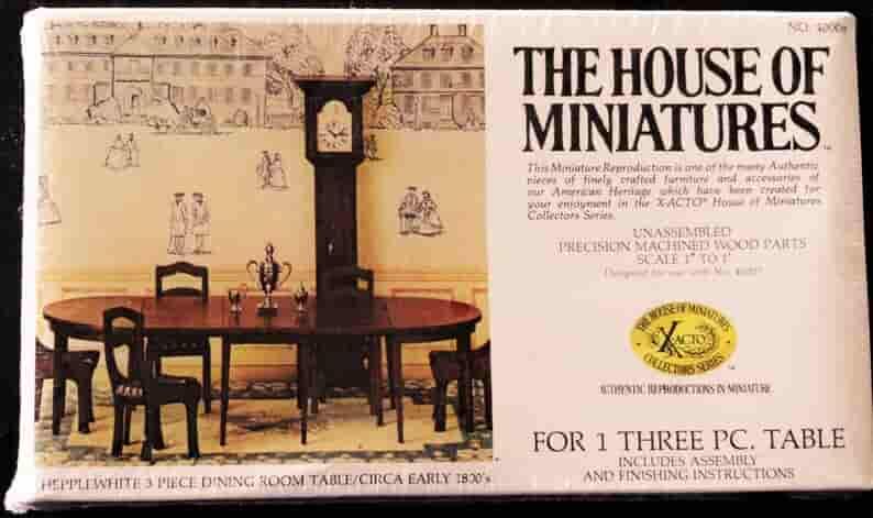 the house of miniatures miniature furniture