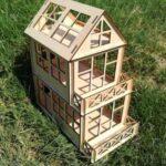 Cheap Wooden Dollhouse Kits - 5 Store Reviews